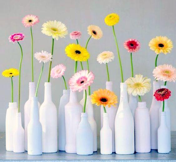 Hübsche Vasen Aus Flaschen Basteln Nettetippsde