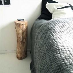 Bedside table of log.jpg