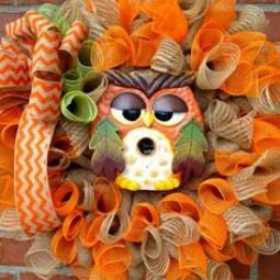 Dbbd2ba2ef37884efaeb8b354dbb28aa owl wreaths fall burlap wreaths 1.jpg