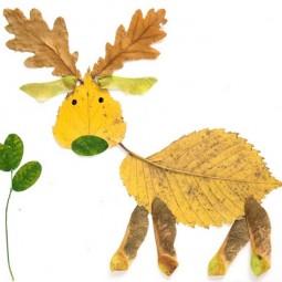 Diy leaf crafts look what i did with a leaf_zps5c6fa77f.jpg