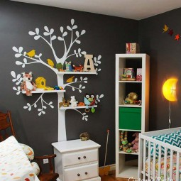Wall tree decorating ideas woohome 1.jpg