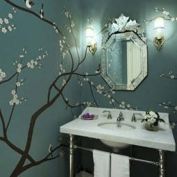 Wall tree decorating ideas woohome 4.jpg