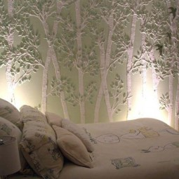 Wall tree decorating ideas woohome 6.jpg