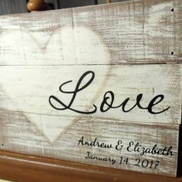 01 rustic love wood signs ideas homebnc.jpg