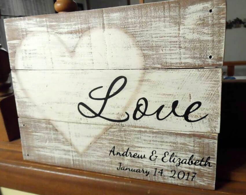 01 rustic love wood signs ideas homebnc.jpg