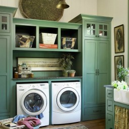 03 french country meets modern appliance laundry room ideas homebnc.jpg