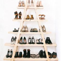04 shoe pyramid stairs shoe storage ideas homebnc.jpg