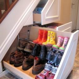 05 under the stairs shoe rack ideas shoe storage ideas homebnc.jpg