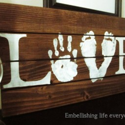 08 rustic love wood signs ideas homebnc.jpg