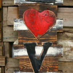 09 rustic love wood signs ideas homebnc.jpg