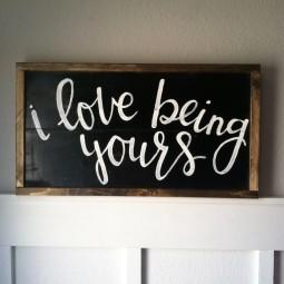 10 rustic love wood signs ideas homebnc.jpg