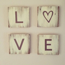 11 rustic love wood signs ideas homebnc.jpg