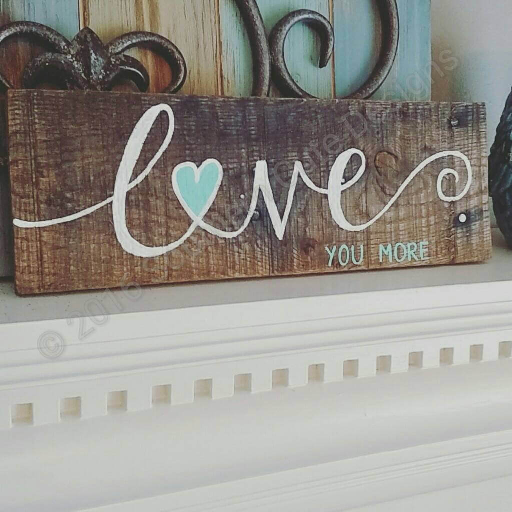 13 rustic love wood signs ideas homebnc.jpg