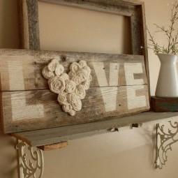 14 rustic love wood signs ideas homebnc.jpg