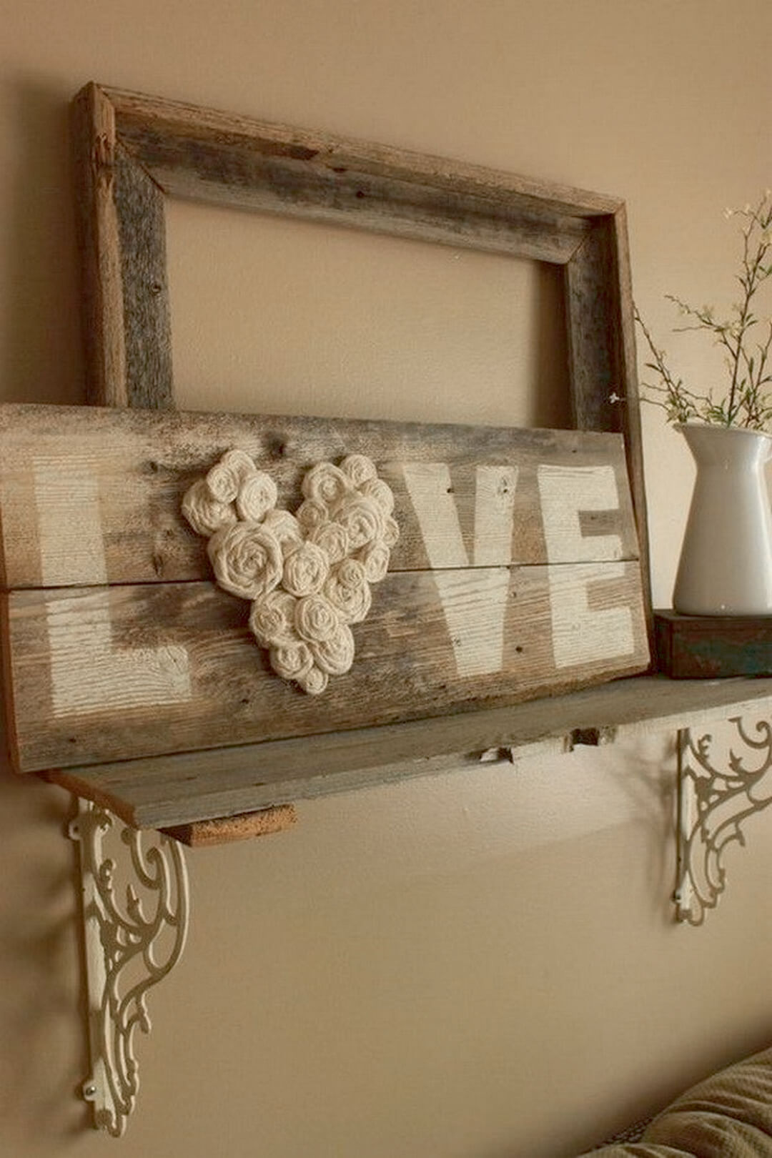 14 rustic love wood signs ideas homebnc.jpg
