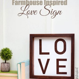 15 rustic love wood signs ideas homebnc.jpg