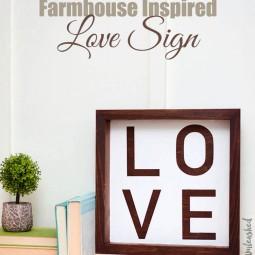 15 rustic love wood signs ideas homebnc.jpg