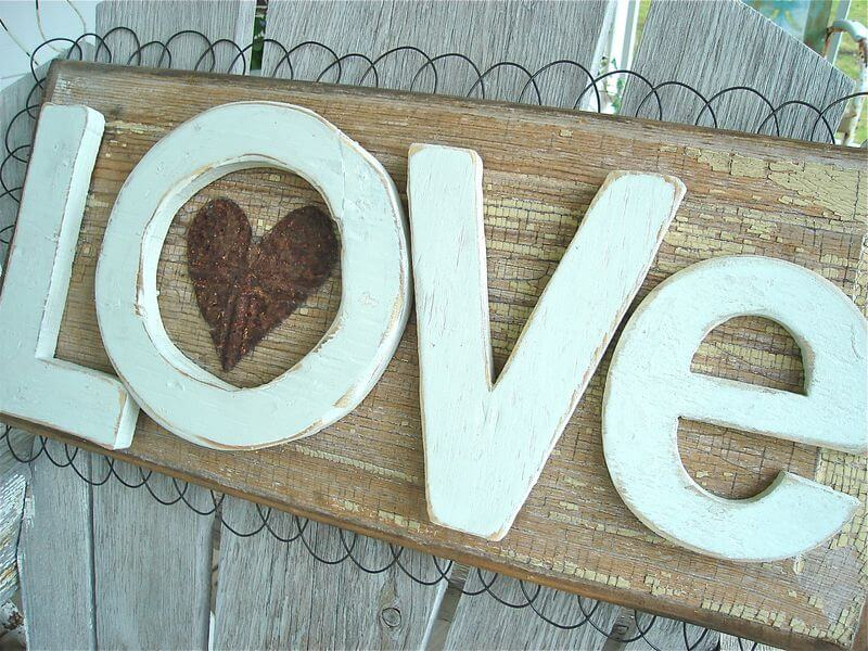 17 rustic love wood signs ideas homebnc.jpg