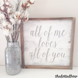 18 rustic love wood signs ideas homebnc.jpg