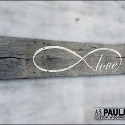 21 rustic love wood signs ideas homebnc.jpg