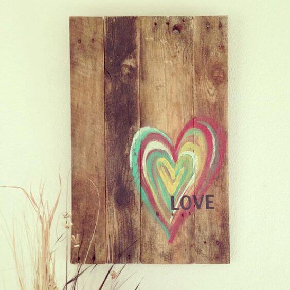 22 rustic love wood signs ideas homebnc.jpg