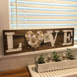 24 rustic love wood signs ideas homebnc.jpg