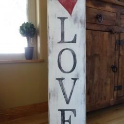 25 rustic love wood signs ideas homebnc.jpg