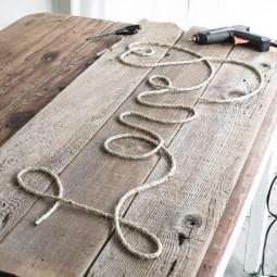26 rustic love wood signs ideas homebnc.jpg