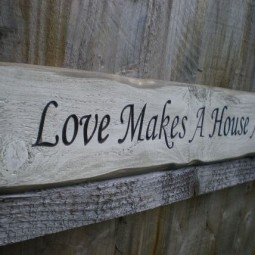 29 rustic love wood signs ideas homebnc.jpg