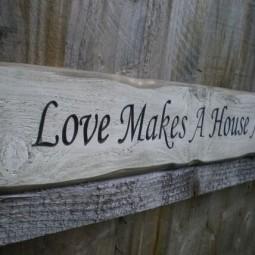 29 rustic love wood signs ideas homebnc.jpg