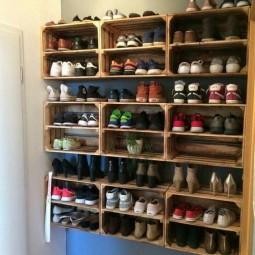 20 Ideen Wie Man Schuhe Und Accessoires Organisieren Kann