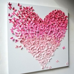 Amazing 3d wall art paintings and wall flower sticker ideas to bring a blank wall in your home or office to life 24.jpg