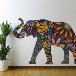 Amazing 3d wall art paintings and wall flower sticker ideas to bring a blank wall in your home or office to life 25.jpg
