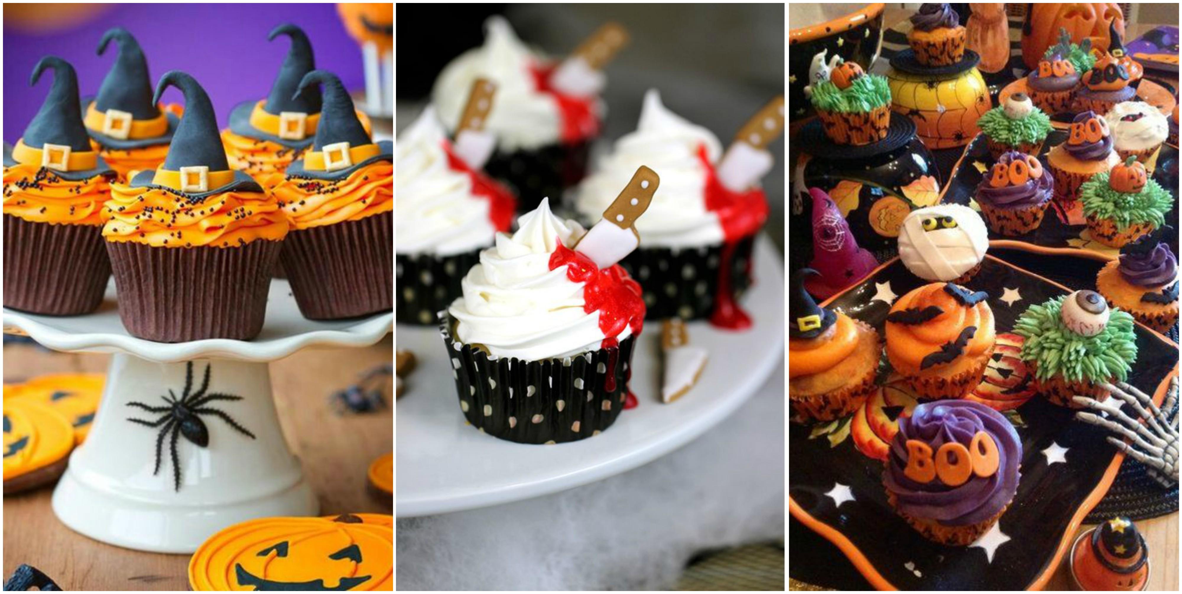 20 wunderbare halloween muffins. Black Bedroom Furniture Sets. Home Design Ideas