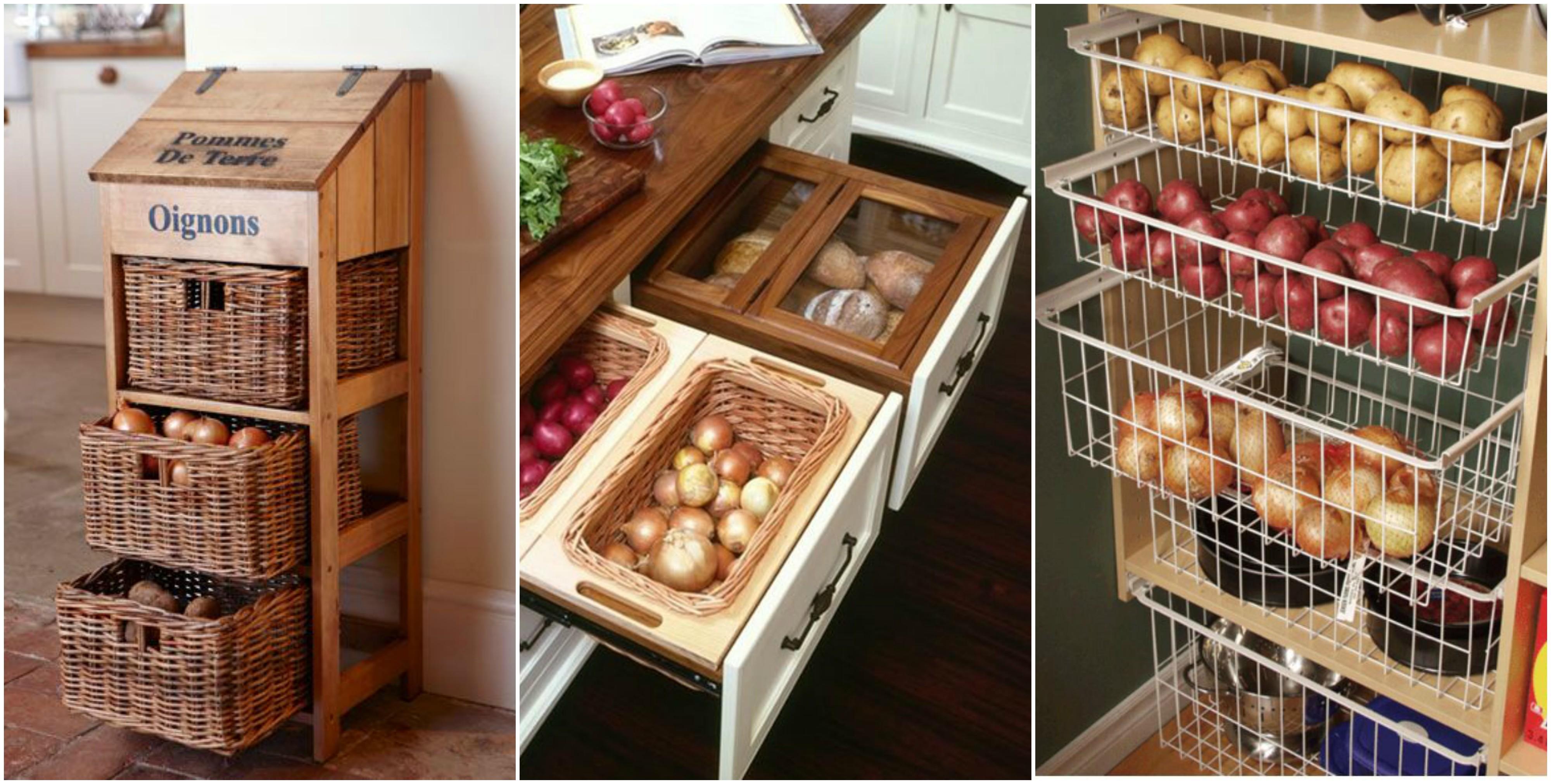 tipps f r eine clevere aufbewahrung von kartoffeln und zwiebeln. Black Bedroom Furniture Sets. Home Design Ideas