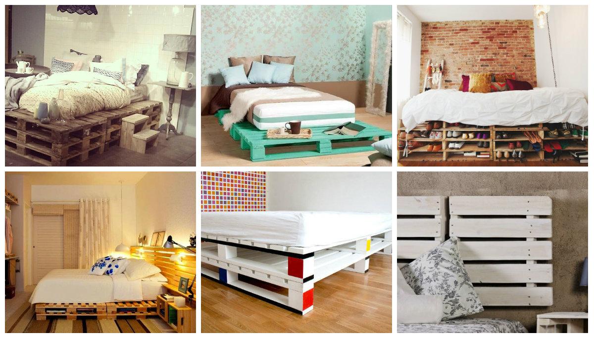 g nstige diy paletten projekte f rs schlafzimmer. Black Bedroom Furniture Sets. Home Design Ideas