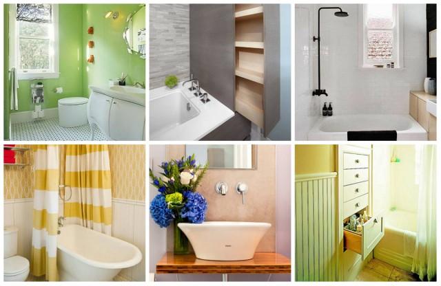 kleines badezimmer vergr ern 19 praktische hacks. Black Bedroom Furniture Sets. Home Design Ideas