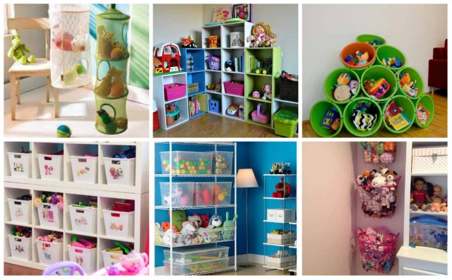 Aufbewahrung spielzeug ideen for Aufbewahrungsideen kinderzimmer