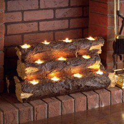 Fall fireplace decor idea with candles.jpg
