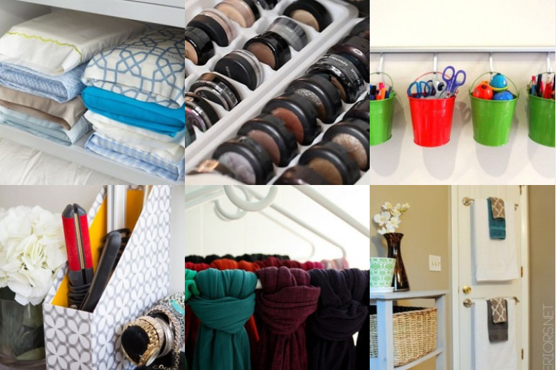 14 geniale organisations hacks. Black Bedroom Furniture Sets. Home Design Ideas