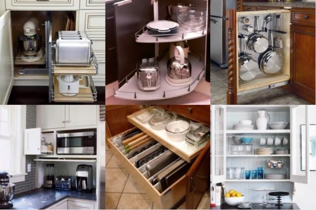 22 ideen für perfekte organisation der küchenschränke