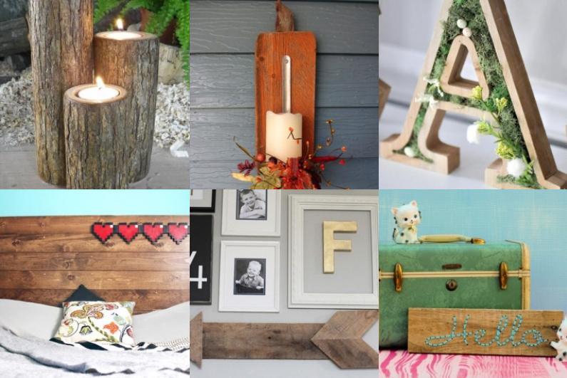 13 tolle diy projekte mit holz. Black Bedroom Furniture Sets. Home Design Ideas