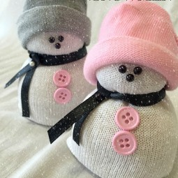 15 schneemann basteln mit kindern im winter aus verschiedenen materialien. Black Bedroom Furniture Sets. Home Design Ideas