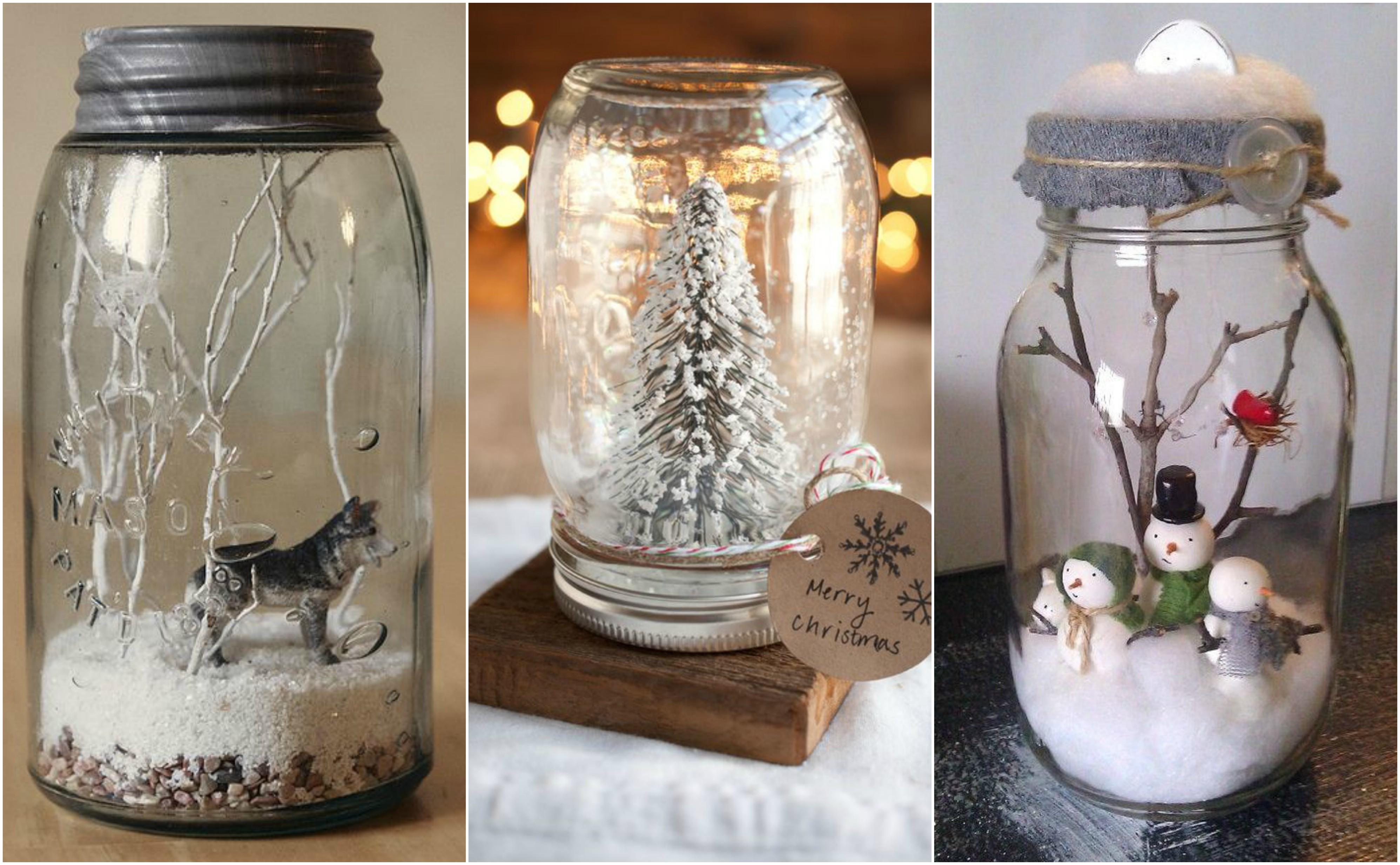 Weihnachtsdeko ideen in gl sern zum selbermachen - Billige weihnachtsdeko ...