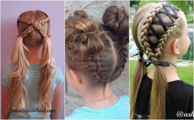 Einfache Und Hübsche Frisuren Für Mädchen Nettetippsde