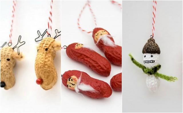 Diy Weihnachtsdeko.Diy Weihnachtsdeko Ideen Aus Erdnüssen Nettetipps De