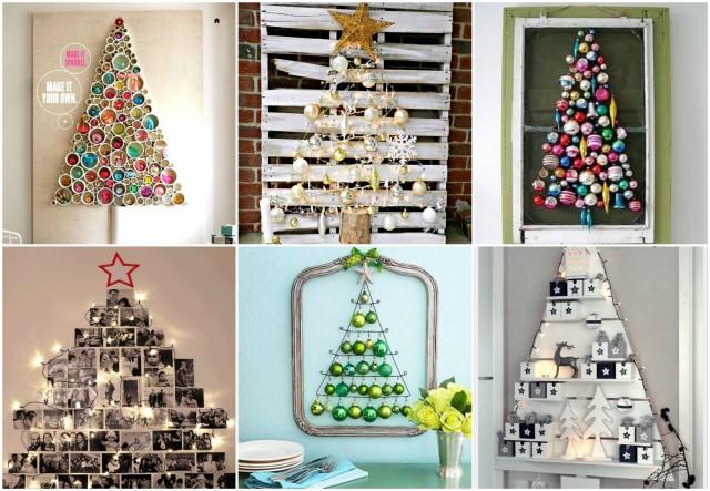 Ein Weihnachtsbaum Fur Die Wand 20 Originelle Ideen Nettetipps De