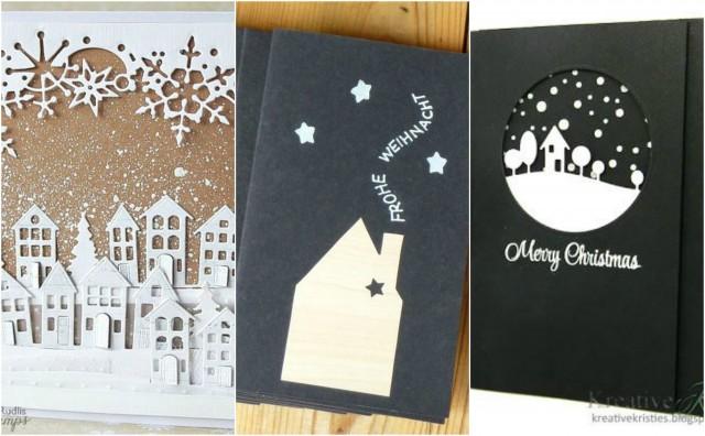 Weihnachtskarten Mit Foto Selber Basteln.18 Wunderbare Weihnachtskarten Selber Basteln Nettetipps De