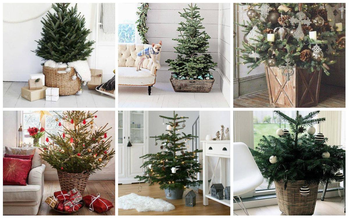 weihnachtsbaumst nder ideen f r jede wohnung. Black Bedroom Furniture Sets. Home Design Ideas