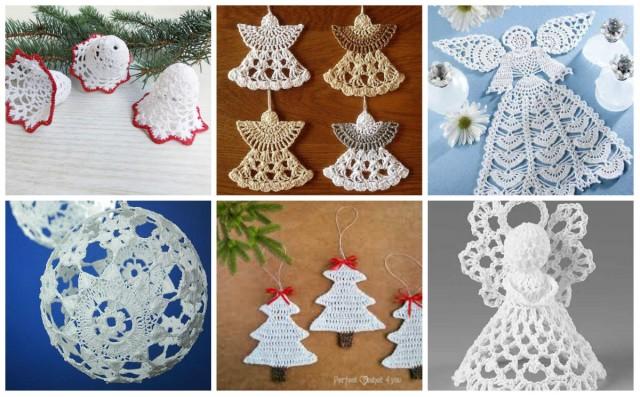 Schöne Ornamente Für Weihnachten Häkeln Nettetippsde